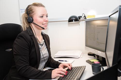 Servicedesk, helpdesk och övervakning ger snabb och tillgänglig support